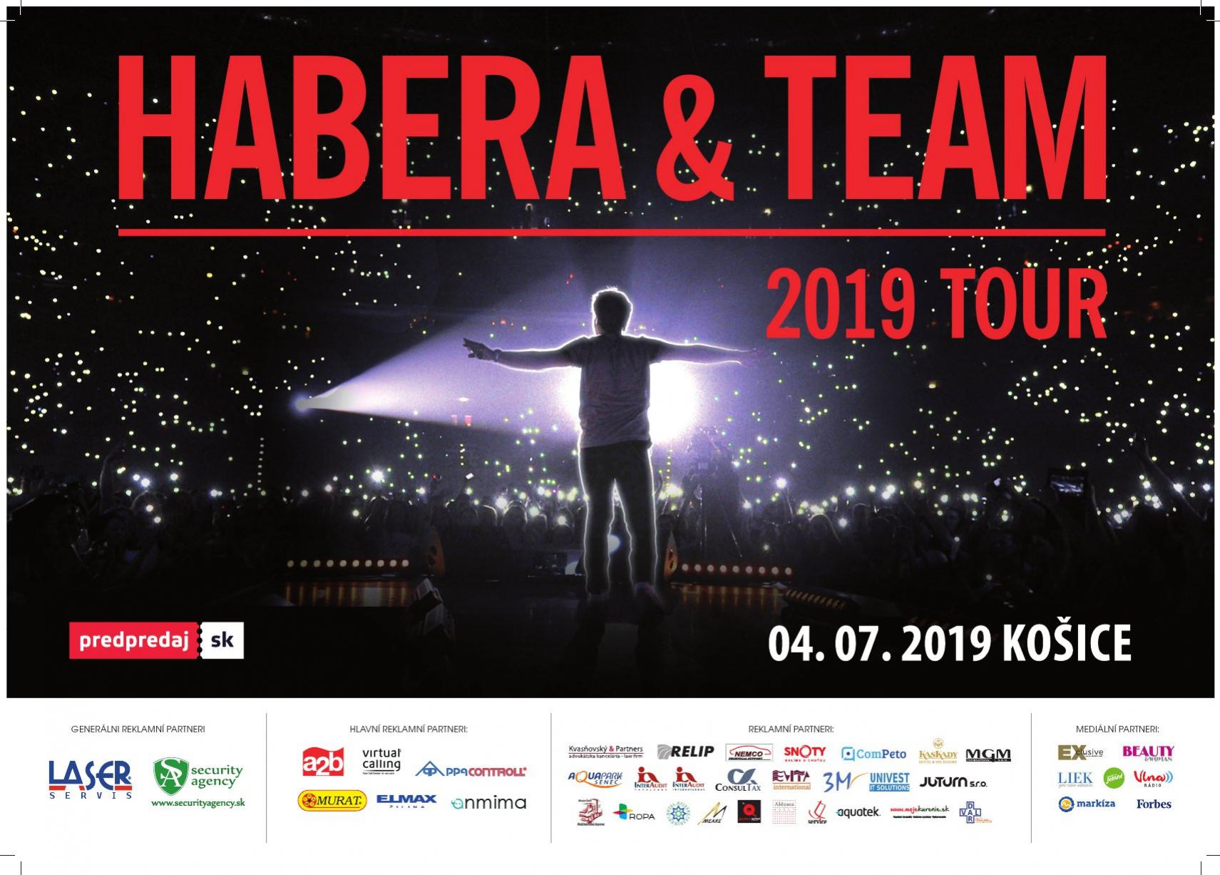 Habera a Team Tour 2019 Košice