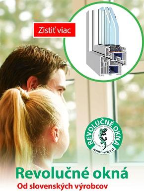 Revolučné okná od slovenských výrobcov