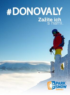 #Donovaly - zažite ich s nami Park Snow Donovaly