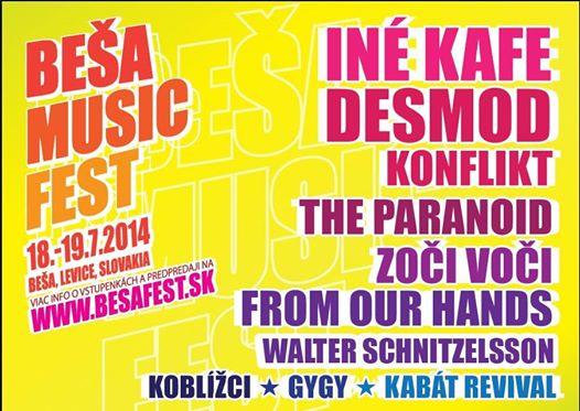 Druhý ročník dvojdňového festivalu Beša Music fest odštartuje 18. -19.júla  2014. Po úspešnej premiére v minulom roku sa opäť v Beši stretnú skvelé  kapely so ... a2da0ae1e3b