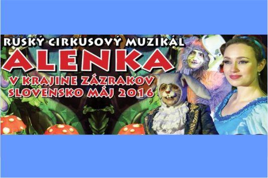 Alenka v krajine zázrakov Ruský cirkuso - Katalóg firiem  40162df4008